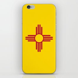 Flag of New Mexico - Authentic High Quality Image iPhone Skin