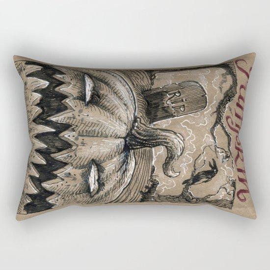 Pumpkin (Drawlloween 1/31) Rectangular Pillow