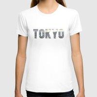 tokyo T-shirts featuring Tokyo by Bonnie J. Breedlove