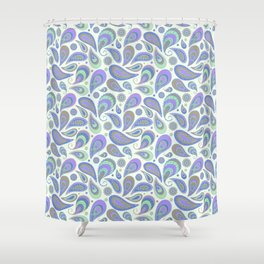 Light like feather Shower Curtain