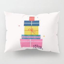 Pile of christmas presents Pillow Sham