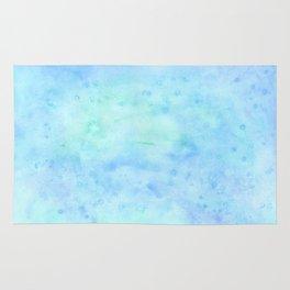 ocean water color Rug