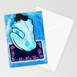 BLUE MOOD  PICASSO Stationery Cards