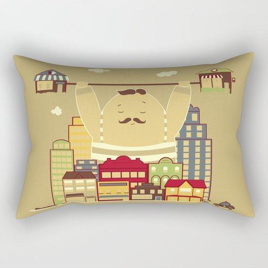 Shoplifter! Rectangular Pillow