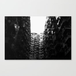 :: Hong Kong Flats :: Canvas Print
