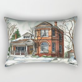 Victorian Eclectic in The Avenues Rectangular Pillow