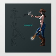 Machete! Canvas Print