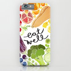 Eat Well Slim Case iPhone 6s