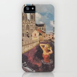 Cosmic Canal iPhone Case