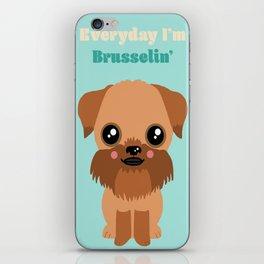 Brussels Griffon iPhone Skin