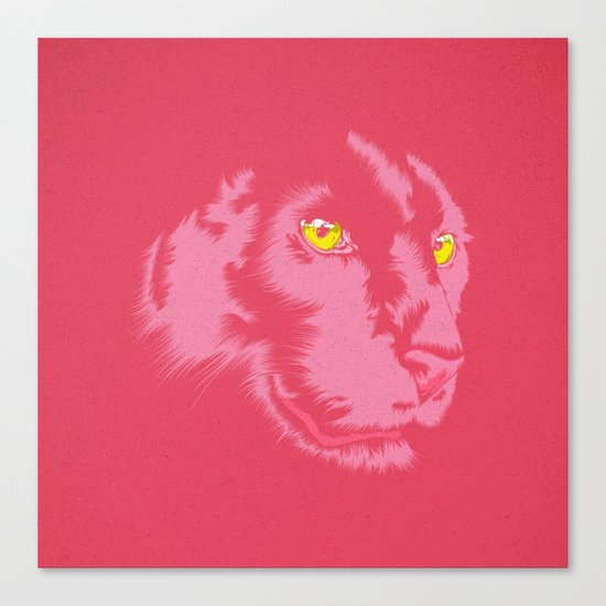 Pink Panther Canvas Print