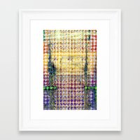 martell Framed Art Prints featuring Highly Acidic by G Martell