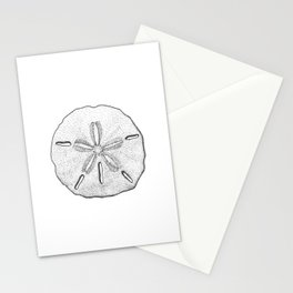 Sand Dollar Stationery Cards