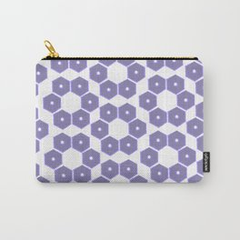 Ultraviolet Petals III Carry-All Pouch