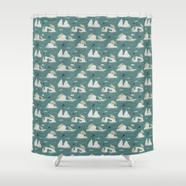 Go North Shower Curtain