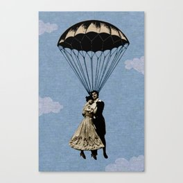 falling in love Canvas Print