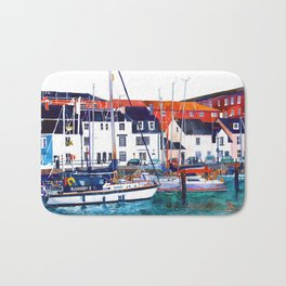 Weymouth Port Bath Mat
