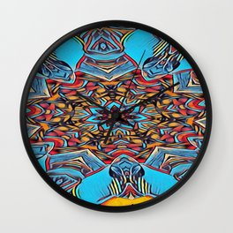The Departed of Achilles 5 Wall Clock