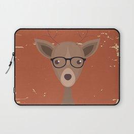 Hipster Deer Laptop Sleeve