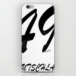 49 - Germany iPhone Skin