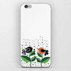 cute bird iPhone & iPod Skin