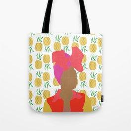 Pineapple Bawse Babe Tote Bag