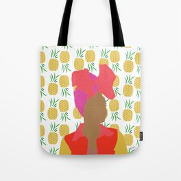 Pineapple Bawse Babe Tote Bag
