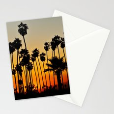 Palms to the Waning Day Stationery Cards