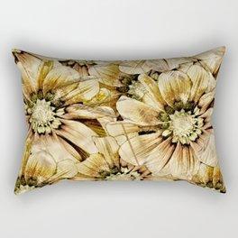 DISTRESSED DAISIES Rectangular Pillow