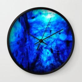 Blobs 5 Wall Clock