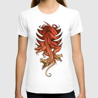mother of dragons T-shirts featuring Dragons by sandara