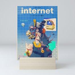 Internet Procrastination Mini Art Print