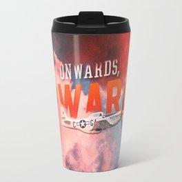Onwards, Upwards (Full Version) Travel Mug