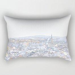 Memoirs of the Old Bohemian Town Rectangular Pillow