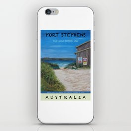 Travel Poster One Mile, NSW iPhone Skin
