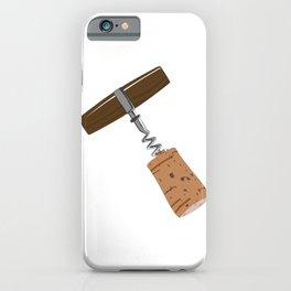Corkscrew with Cork iPhone Case