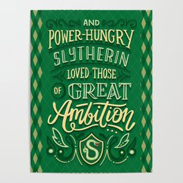 Great Ambition Poster