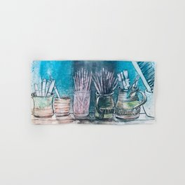 The Artist's Shelf Hand & Bath Towel