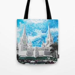 San Diego California LDS Temple 1 Tote Bag