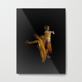Sudden Movement in Traditional dance - 122 Metal Print