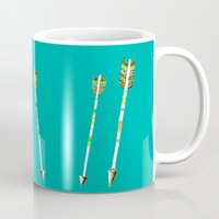 arrow Mugs featuring Arrow by yuyuy