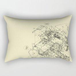 The Way Back Rectangular Pillow