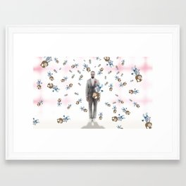 Graduation Insanity Framed Art Print