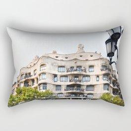 Gaudi Series - Casa Milà No. 1 Rectangular Pillow