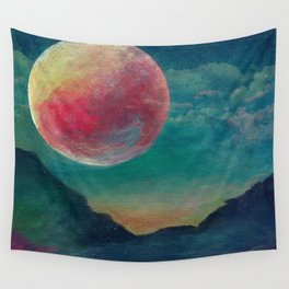 On The Nature Of Moonlight Wall Tapestry