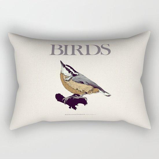 BIRDS 01 Rectangular Pillow
