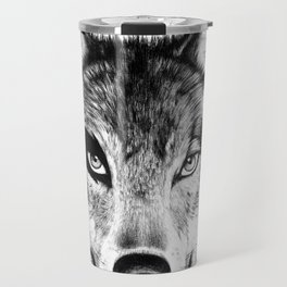 The Wolf Next Door Travel Mug