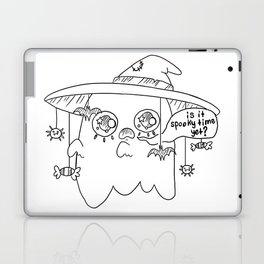 Impatient Ghosty Laptop & iPad Skin