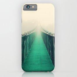 suspension bridge iPhone Case
