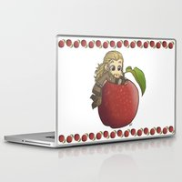 fili Laptop & iPad Skins featuring Fili&Apple by AlyTheKitten